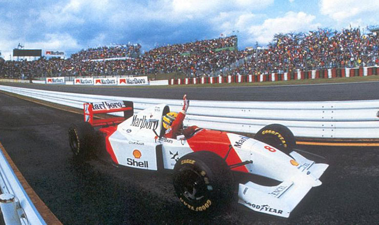Photo of Vittoria per Senna in Giappone 1993