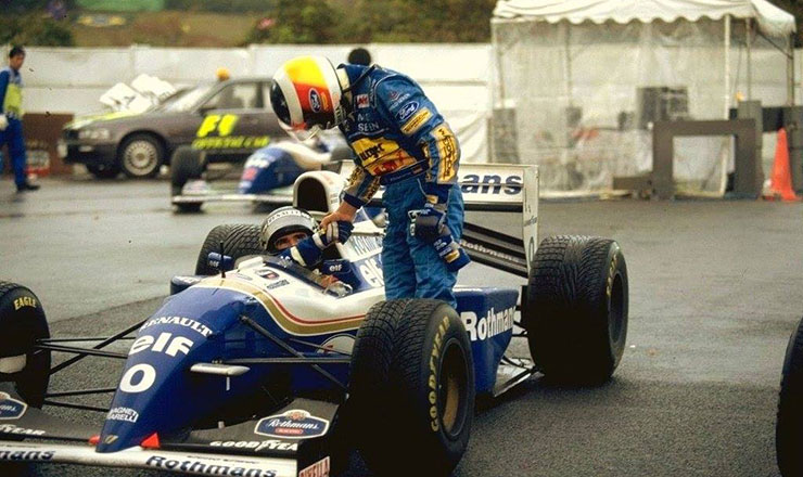 Photo of Damon Hill tiene aperto il mondiale 1994
