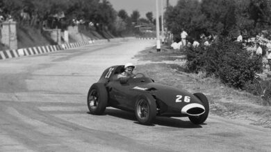 Photo of Stirling Moss vince il Gran Premio di Pescara