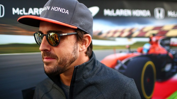 Fernando Alonso in conferenza stampa in Bahrain