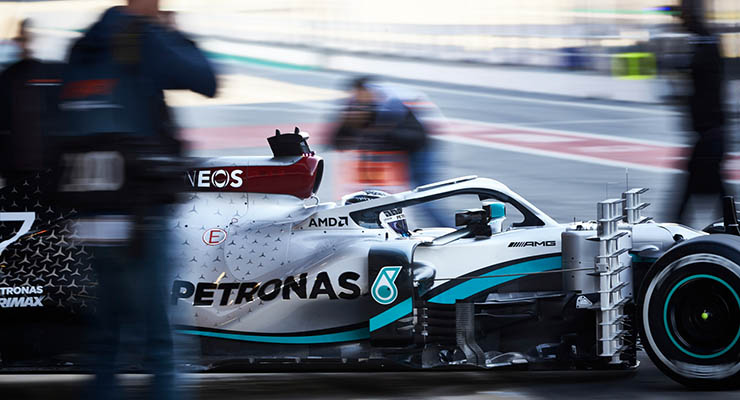 Test Barcellona Mercedes