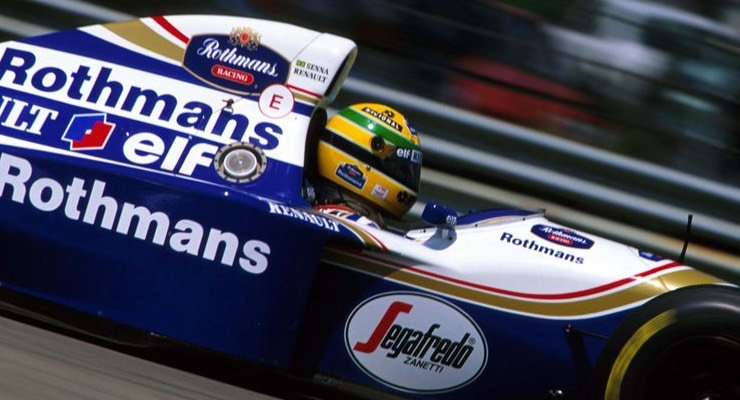 senna williams renault